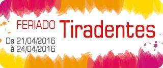 Pavote de feriado Tiradentes 2016